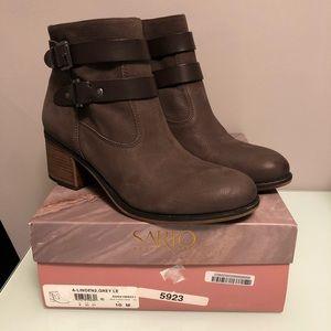 Franco Sarto Linden Block Heel Boots